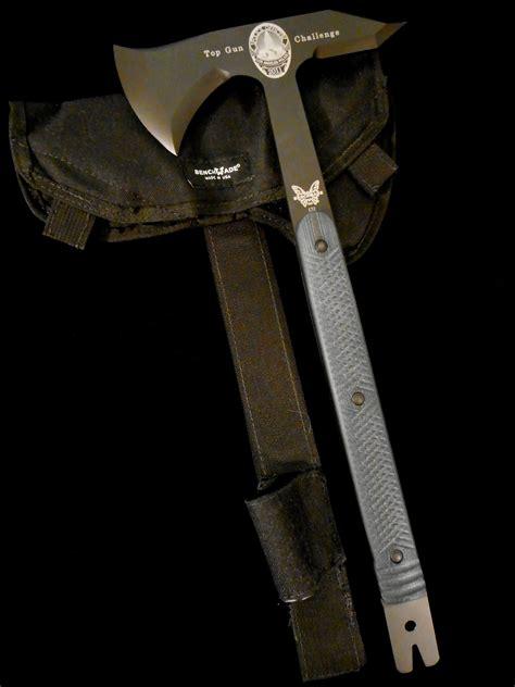 benchmade 172 tomahawk benchmade knives 172 k5 lapd top gun challenge battle