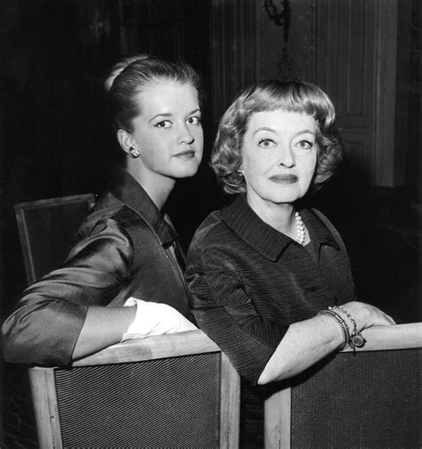 b d hyman bette davis 1908 1989 with daughter bd hyman b