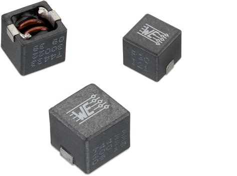 we power inductor we hcc smd high current cube inductor single coil power inductors wurth electronics standard