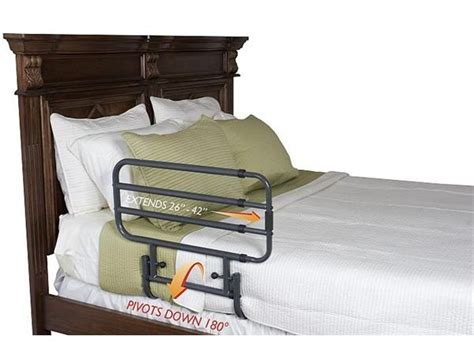stander bed rail stander ez adjust bed rail elderluxe