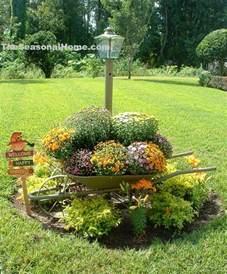Flower Garden Decor Fall Yard Decoration Ideas 171 The Seasonal Home