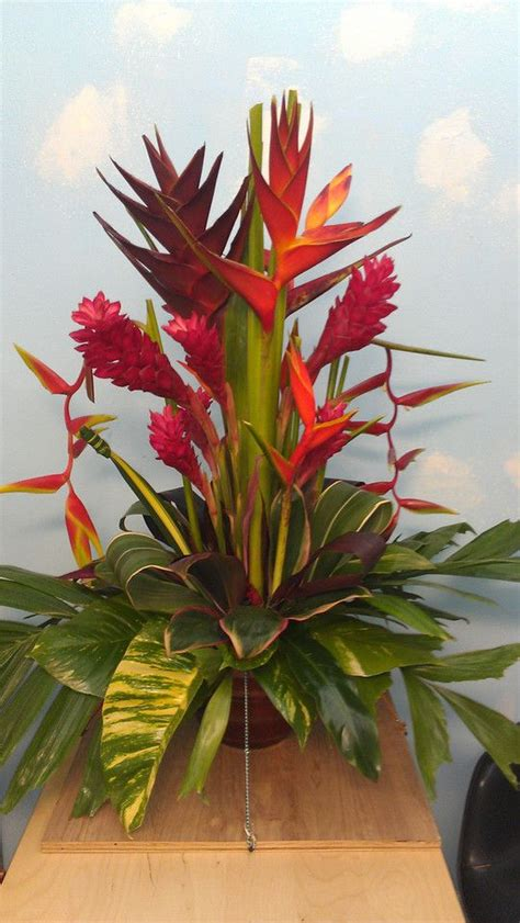floral arranging 25 trending tropical flower arrangements ideas on