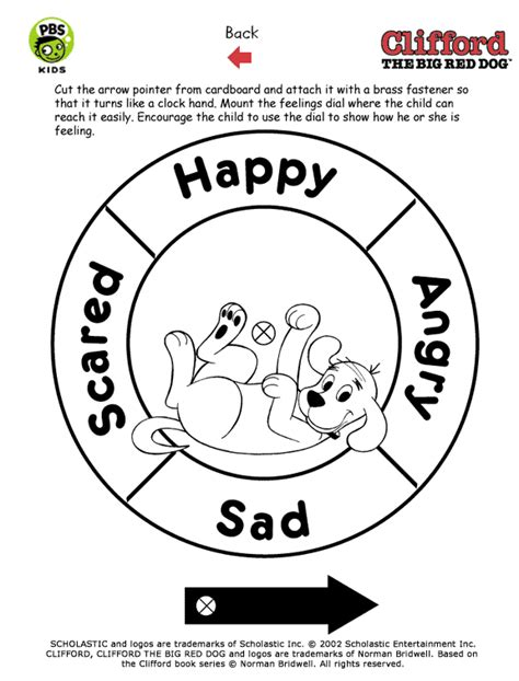 free preschool emotions coloring pages