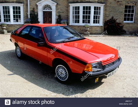 1984 renault fuego 1984 renault fuego turbo stock photo 150370927 alamy