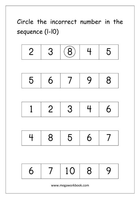 pattern missing numbers sequence math worksheets pattern worksheetspattern