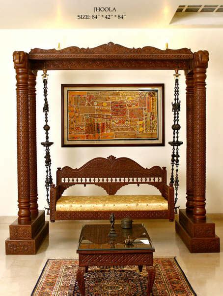 traditional indian homes with a swing traditional indian traditional jhoola indian swing handicraft