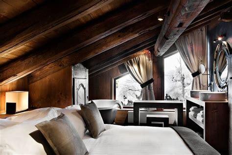 wohnideen chalet 30 ideen f 252 r schlafzimmer einrichtung im stil chalet