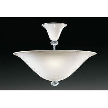 illuminazione de majo de majo lada a soffitto modello 9002 in vetro