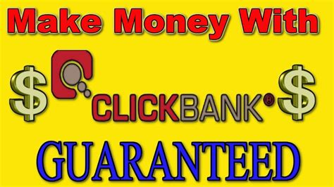 How To Make Money Online With Clickbank - best way to make money with clickbank free method make money online