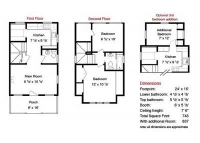 whidbey tumbleweed house plans floor plans pinterest tumbleweed b 53 house plan a little room pinterest