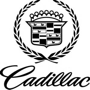 Cadillac Sticker Cadillac Emblem Decal Sticker Cadillac Emblem
