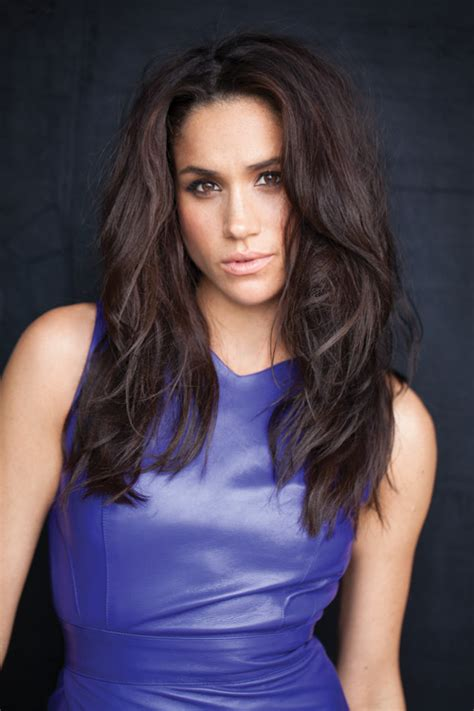 meagan markle meet meghan markle the suits talks freckles and louboutins fashion magazine