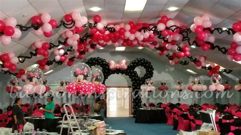 party themes minnie mouse minnie mouse themed party archives ballooninspirations com