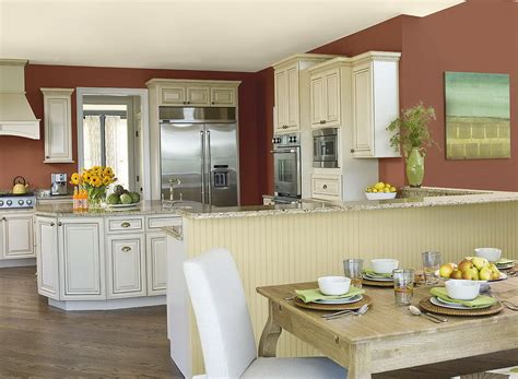 best colors for kitchen walls with white cabinets home