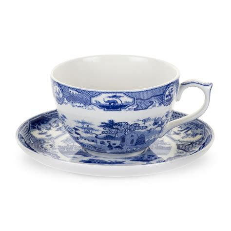 spode blue room jumbo cup and saucer spode blue room jumbo cup and saucer castle spode uk