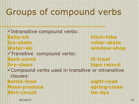 word formation in
