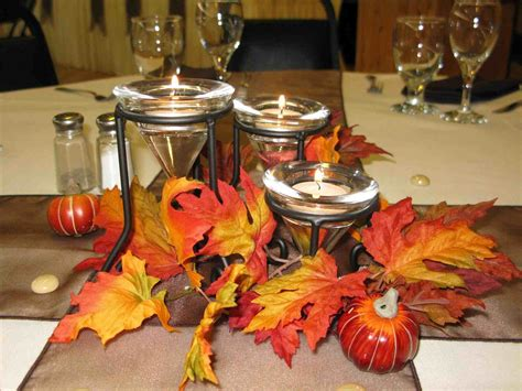 table simple fall wedding centerpiece ideas decorations