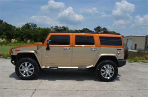Hummer H2 Limited Edition by Sell Used 2006 Hummer H2 Limited Edition Loaded In Ta