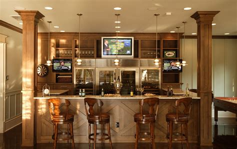 bar house basement apartment kitchen design ideas home bar design