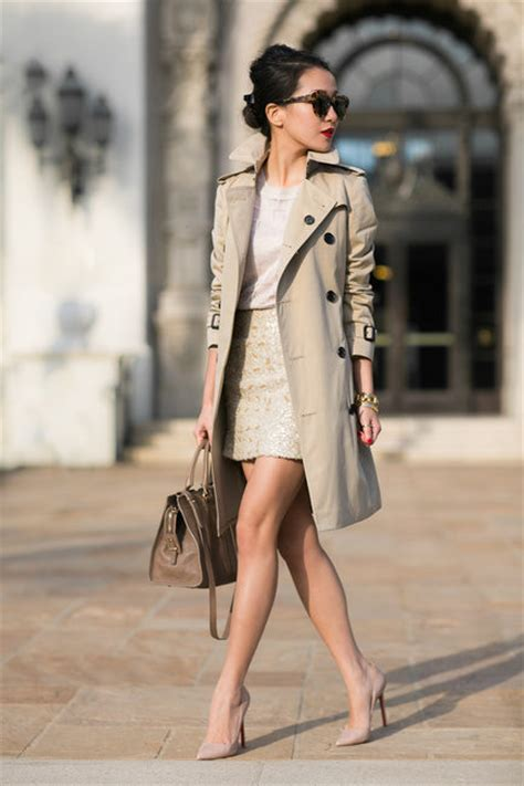 Style Ideas How To Work The Metallic Trench This Second City Style Fashion by 40 Trench Coat To Give You That Inspiration You