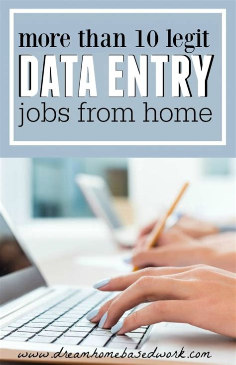 Free Online Data Entry Work From Home - legitimate data entry jobs you can do from home autos post