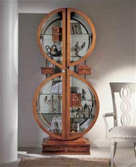 libreria chiave di violino vetrina libreria in legno con intarsi arredo in stile