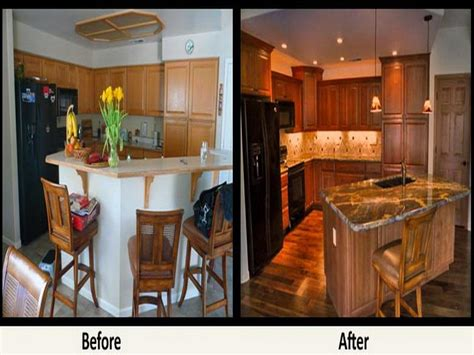 kitchen remodeling ideas before and after cabinet refacing before and after home renovations