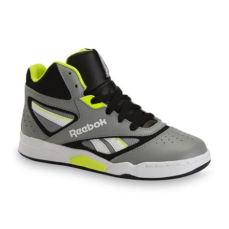 best basketball shoes for boys reebok boy s pro heritage gray black high top basketball shoe