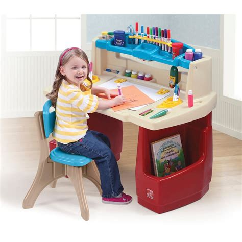 kids art desk for two fisher price art desk home furniture design