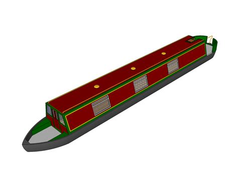 clip art narrowboat cliparts - Canal Boat Clipart