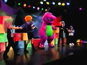 barney colors all around barney and friends colors all around