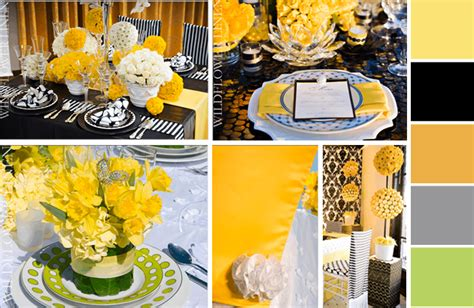 sunflower table settings simplicity lemon zest and sunflower wedding ideas