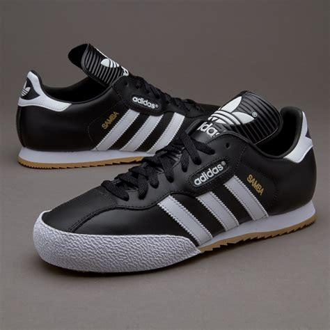 adidas trainer adidas samba super soccer shoe black white indoor football boot