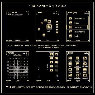 black themes s60v3 symbian s60v3 themes by shadow 20