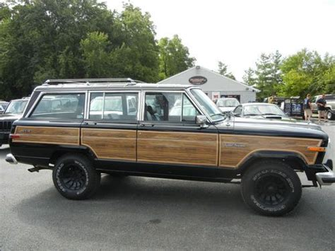 1987 Jeep Grand Wagoneer Mpg Purchase Used 1987 Jeep Grand Wagoneer 4x4 In Lynchburg