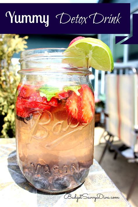 Detox Drink Recipes by Detox Drink Recipe Budget Savvy