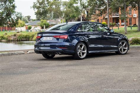 Audi S3 Sedan by 2017 Audi S3 Sedan Review Performancedrive