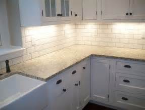 subway tile kitchen backsplash ideas white subway tile kitchen backsplash pictures home design ideas