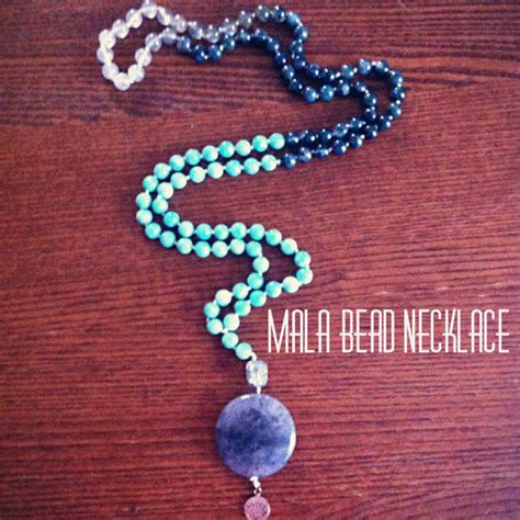 how many in a mala diy mala bead necklace 5 steps