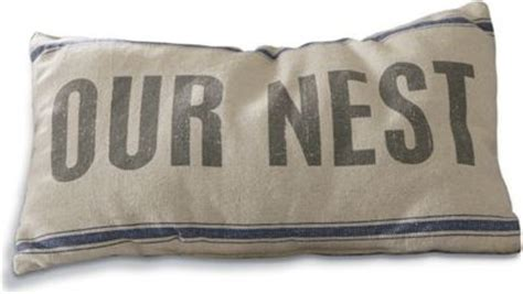 Our Nest Pillow by Our Nest Toss Pillow From Through The Country Door 41596