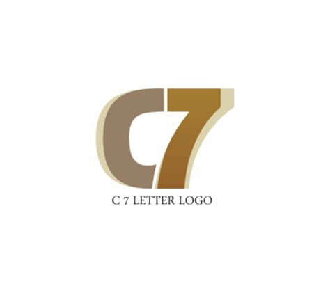 alphabet logo design free download c 7 letter logo design download vector logos free