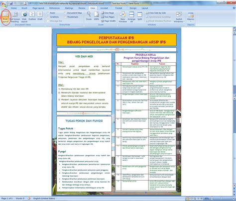 cara membuat layout majalah di word cara membuat background gambar di ms word 2007