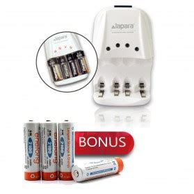 Enelong Baterai Cas Ni Mh Aa 2100mah 4pcs Hr6 Mn1500 lapara ii alkaline battery charger bonus enelong rechargeable aa hr6 mn1500 ni mh batteries