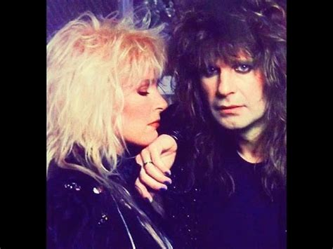 lita ford with ozzy osbourne lita ford and ozzy osbourne my forever