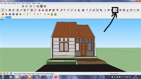layout gudang pakan tutorial sketchup membuat potongan dengan menggunakan
