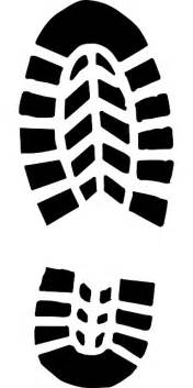 Hiking boot tread clip art boot shoe sole hiking boot print vector