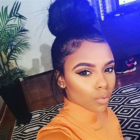 how to make a bun on thin edges before and after pin by lisa simone on cutie pie s pinterest makeup