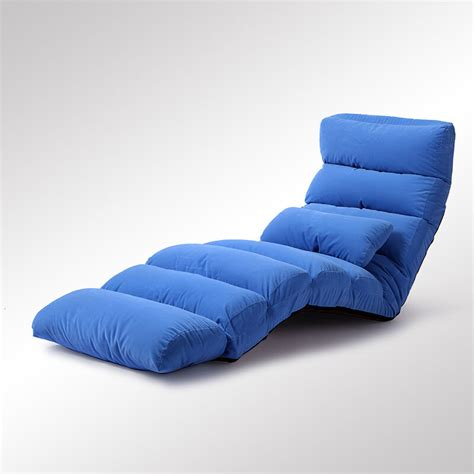 floor lounger sofa floor foldable fabric upholstered chaise lounge living