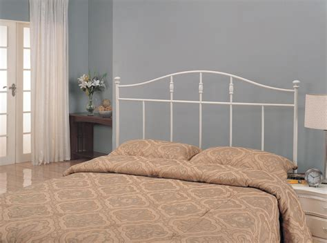 White Iron Headboard by White Metal Headboard 300183t Coaster Furniture