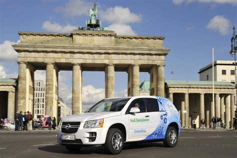 Brennstoffzelle Auto Probleme by Testfahrt In Die Zukunft Opel Setzt Auf Wasserstoff